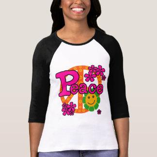 60sスタイルの平和Tシャツおよびギフト Tシャツ