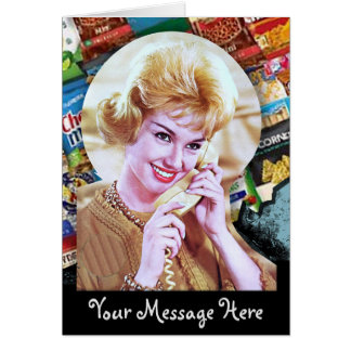 60s電話女性とのあなたの単語 カード