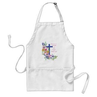 60th Anniversary, Nun, Religious Life Cross スタンダードエプロン
