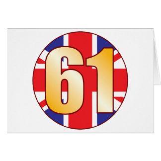 61イギリスの金ゴールド カード