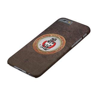 [610]日本のな武道の書道: 柔道 BARELY THERE iPhone 6 ケース