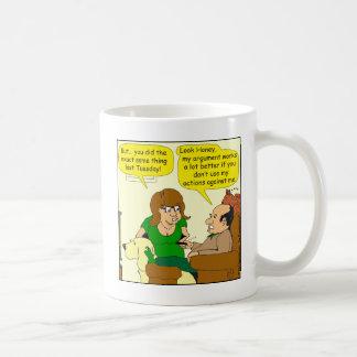 611よりよく私の議論の漫画のために コーヒーマグカップ
