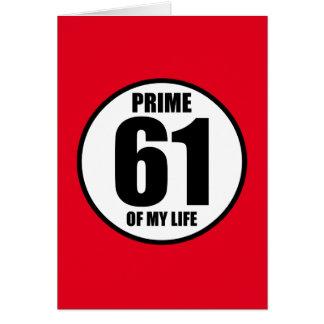 61 -私の生命の全盛 カード