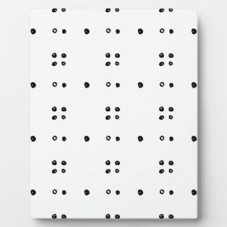 631おもしろいのスタイリッシュな点の落書きpattern.jpg フォトプラーク