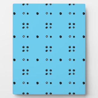 632おもしろいのスタイリッシュな点の落書きpattern.jpg フォトプラーク