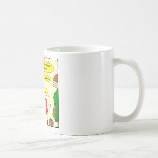 639航空会社の漫画のレッグルーム無し コーヒーマグカップ