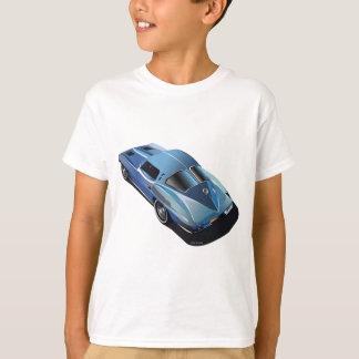 63_Split Window_Blue Tシャツ