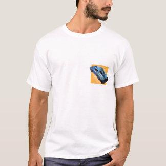 63_Split Window_BlueYellow箱 Tシャツ
