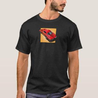 63_Split Window_RedYellow箱 Tシャツ