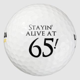 65で生きたStayin ゴルフボール