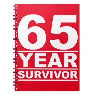 65年の生存者 ノートブック