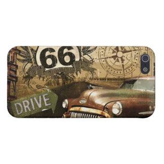 """66遠征の""""給油所""""のiPhone 5/5sの箱を導いて下さい iPhone 5 Cover"""