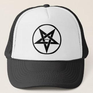 666の五芒星の帽子 キャップ