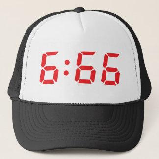 666人の悪魔の目覚し時計 キャップ