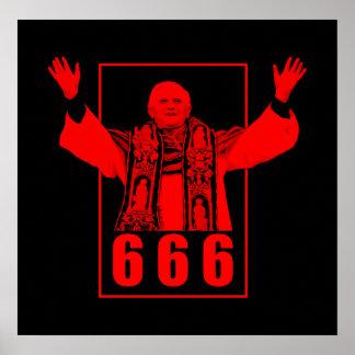 666法皇 ポスター