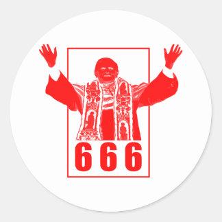 666法皇 ラウンドシール