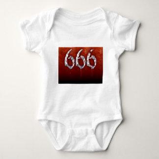 666 ベビーボディスーツ