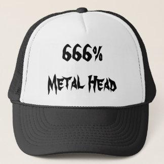 666%Metal頭部 キャップ
