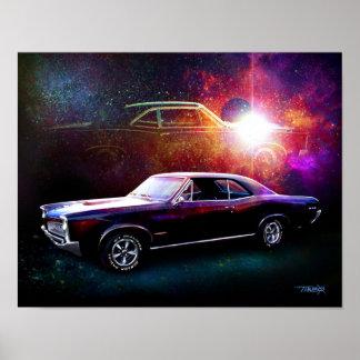 「66 GTOの絵画 ポスター