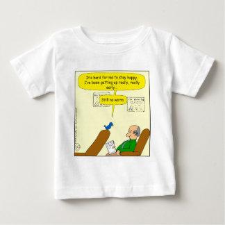 671まだみみずの漫画無し ベビーTシャツ