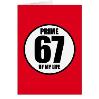 67 -私の生命の全盛 カード