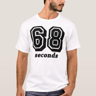 68秒Bgの黒いティー Tシャツ