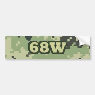 68W バンパーステッカー