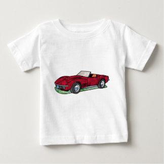 69台のコルベットのアカエイのロードスター ベビーTシャツ
