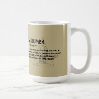 6. KUUMBA Kwanzaaのマグ コーヒーマグカップ