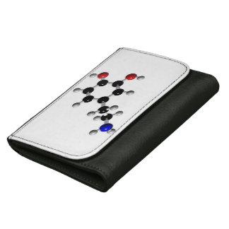 6Tymes9中型の革Dopemineの財布 ウォレット