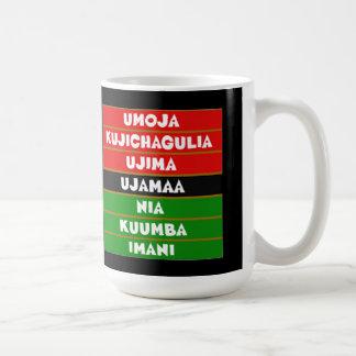 7つの主義のKwanzaaのマグ コーヒーマグカップ