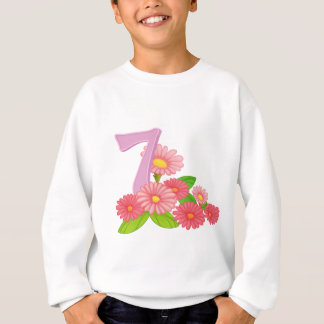 7つの咲く花 スウェットシャツ