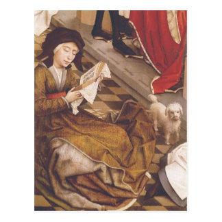 7つの秘跡の祭壇の背後の飾り2 ポストカード