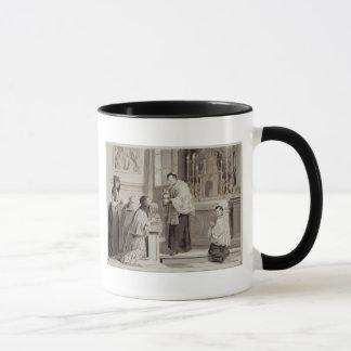 7つの秘跡: 聖餐1779年(茶色ペン マグカップ
