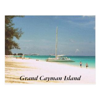 7マイルのビーチ、グランドケイマンの島 ポストカード