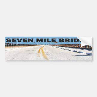 7マイル橋 バンパーステッカー