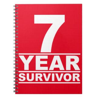 7年の生存者 ノートブック