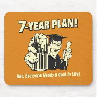 7年の計画: 皆はゴールを必要とします マウスパッド