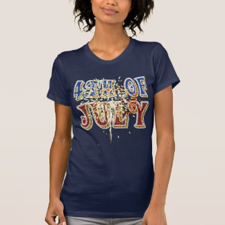 7月のワイシャツの第4 Tシャツ