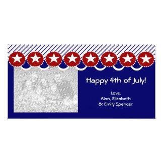 7月の写真カードの幸せな第4 カード