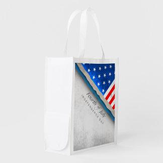 7月の旗-独立記念日の第4 エコバッグ