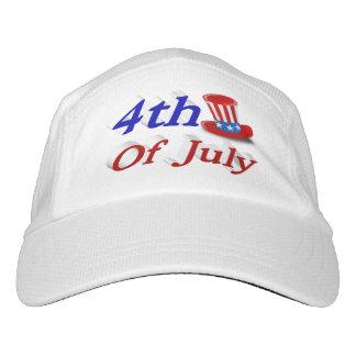 7月の米国市民3Dの性能の帽子の第4 ヘッドスウェットハット