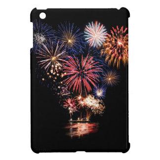 7月の花火のファンキーな第4 iPad MINIケース