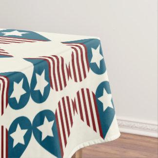 7月の装飾の愛国心が強いテーブルクロス|の第4 テーブルクロス