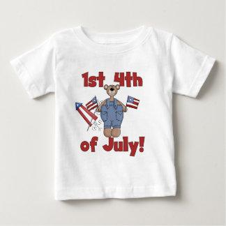 7月のTシャツおよびギフトの第1第4 ベビーTシャツ