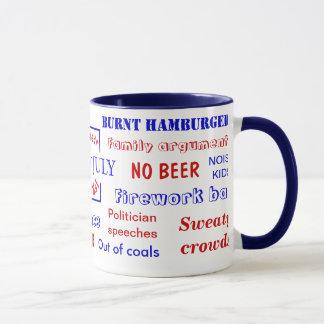 7月は第4不敬な言葉-失礼なマグ--を マグカップ