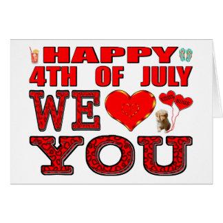 7月第4幸せ私達は愛します カード