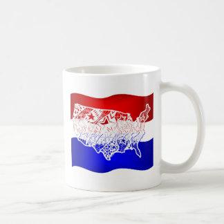 7月米国の4 コーヒーマグカップ