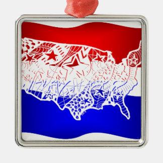 7月米国の4 メタルオーナメント