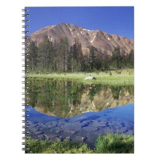 7月4日に反映される鋸歯山 ノートブック